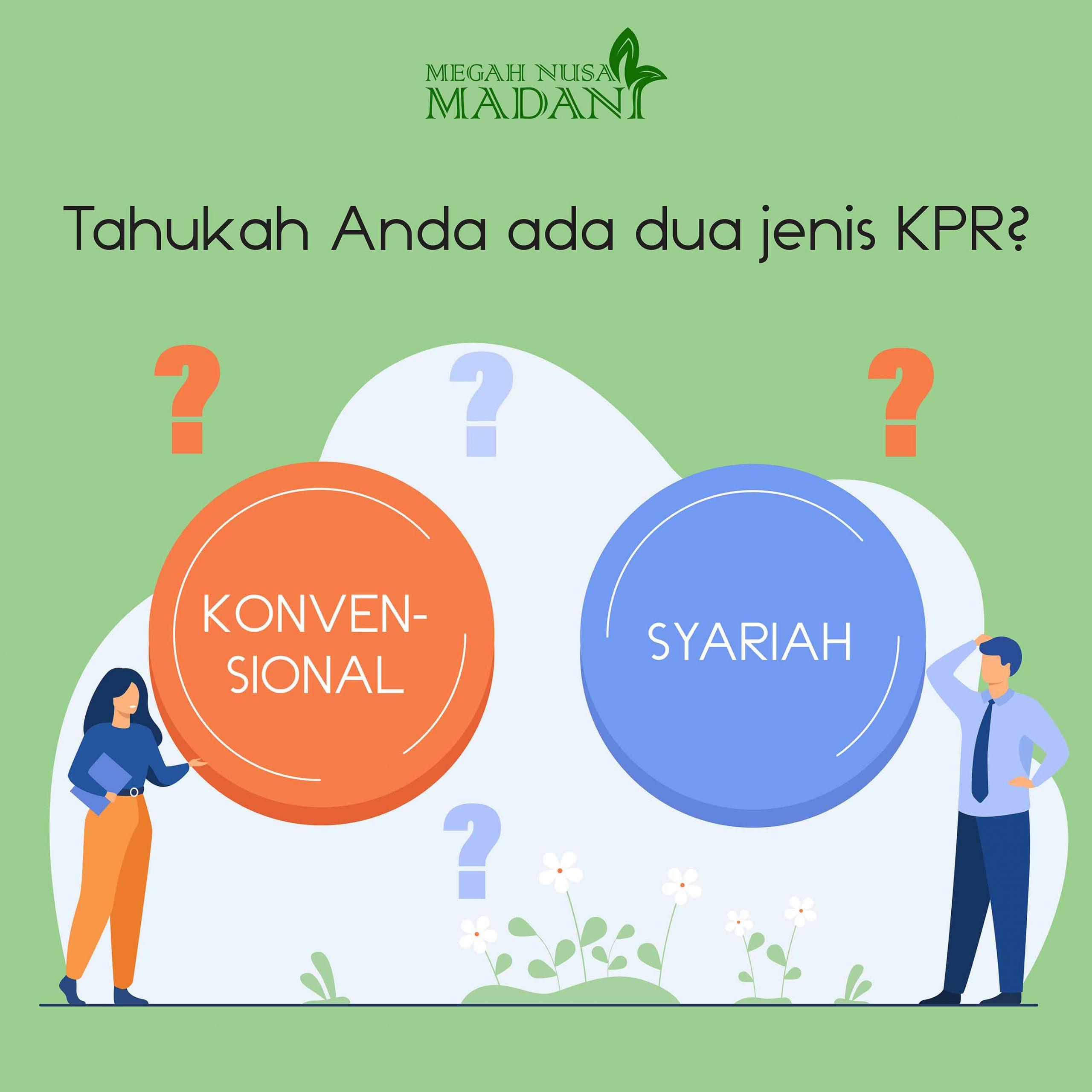 KPR Konvensional atau Syariah? Apa Sih Perbedaannya?